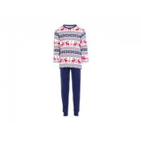 Salto Reindeer 2-delt julepysj blå