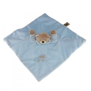 Bamse blå sutteklut 30cm