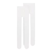 Strømpebukse 2pk Hvit bomull 110-152