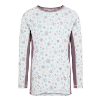 Willto ulltrøye Kids Black Plum
