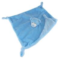 Bamse blå sutteklut 28cm
