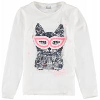 Garcia Girls T-shirt ls Off-white