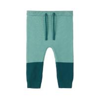 Letias strikket bukse baby Grønn