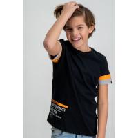 Garcia T-skjorte Svart/Orange