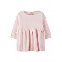 Lael strikket kjole baby rosa