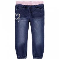 Rie jeans Bolit Mini med hjerter Rosa