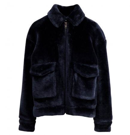 Teddy Jacket Navy