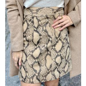 Noemi leather Skirt