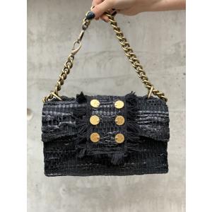 Leather Shoulder Bag - New Yorker Soho Black