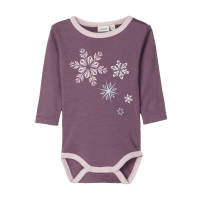 Willow ullbody mini Black Plum