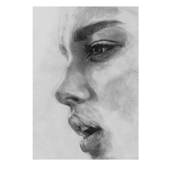 Kunsttrykk Face 5