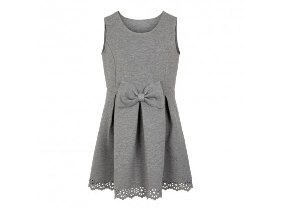 Rhonda sweatkjole kids Grey Melange