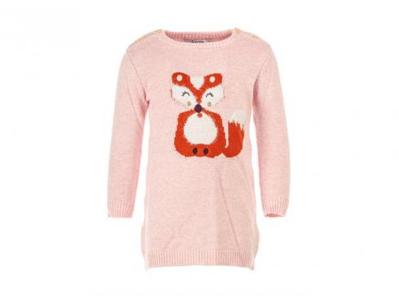 Salto Reven strikket kjole Baby Rosa