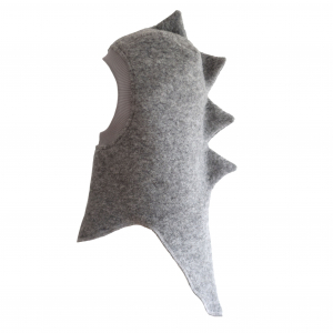 HUTTELIHUT - DINO ELEFANTHUT LIGHT GREY