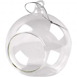 Glasskule med hull