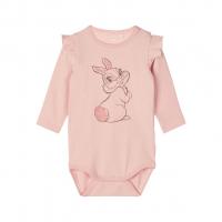 Thumper Kourtney langermet body baby Silver Pink