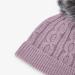 Mathilda strikket ullgenser mini Elderberry