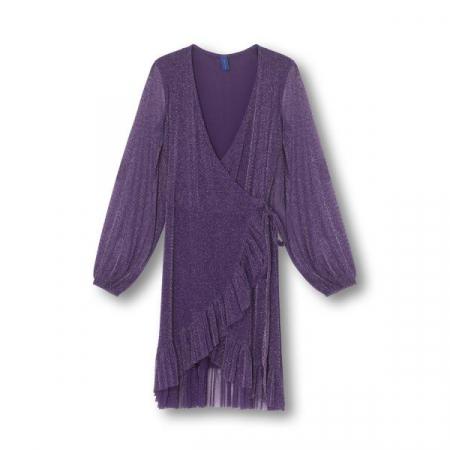 Rose Dress Purple