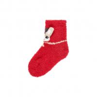 Ruffle julesokk mini Jester Red