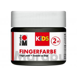 Marabu KIDS Finger Paint 100ml – 073 Sort