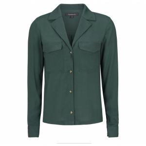 Ally skjorte med lommer flaskegrønn