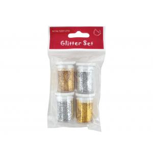 Glittersett 4 x 4g – Sølv/gull
