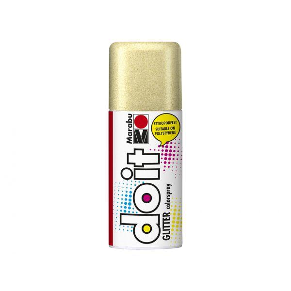 Marabu do it colorspray 150ml – 584 Glitter Gold