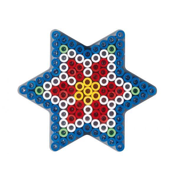 Hama Maxi Piggplate – Stjerne