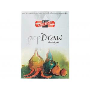 Koh-i-noor Pop Draw A4 – Tegneblokk – 30ark