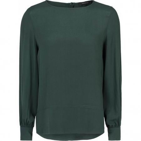 Ally bluse flaskegrønn