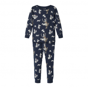 Olaf 2-delt pysjamas mini Dark Sapphire