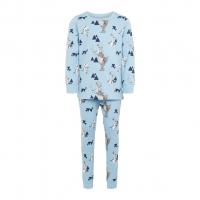Olaf 2-delt pysjamas mini Dusk Blue