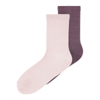 Wak 2-pk ullsokker kids Burnished Lilac