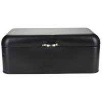 Bread box with matt coating black
