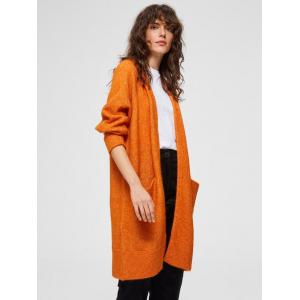 Lanna cardigan orange