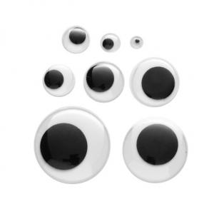 Øyne Ø 5-28 mm 102 stk