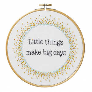 Broderi kit Ø18 Little things