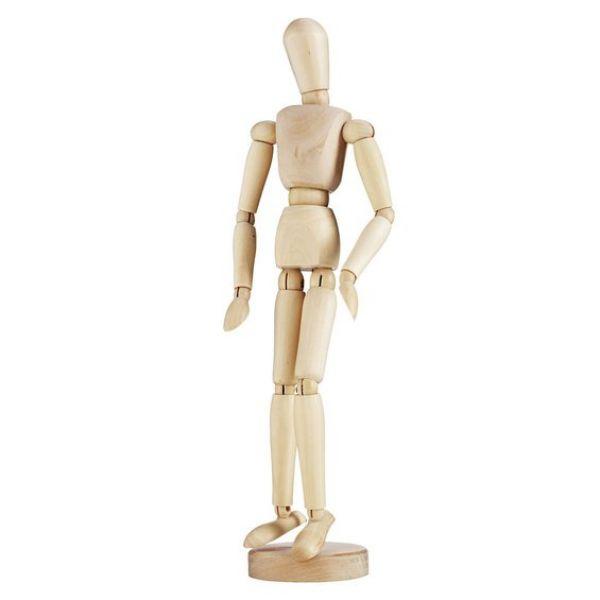 Modelldukke Mann 11 cm