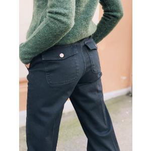 Augusta flare jeans - Soft black