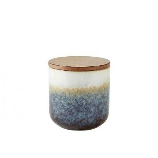 Duftlys keramikk m. lokk Sea salt & coconut