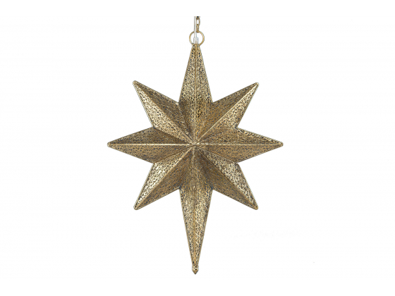 Lampe stjerne stor