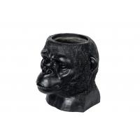 Gorilla vase - svart/brun