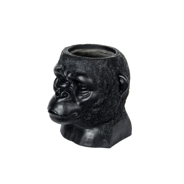 Gorilla vase - svart