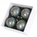 Julekule - blå rund