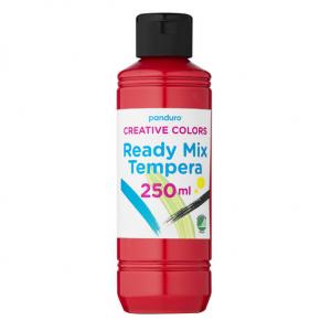 Ready Mix tempera 250ml Rød