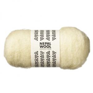 Nepal Wool Naturhvit 50 g