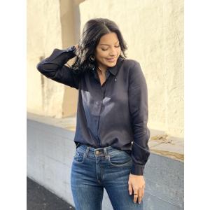 Arabella Odette ls shirt - Dark sapphire