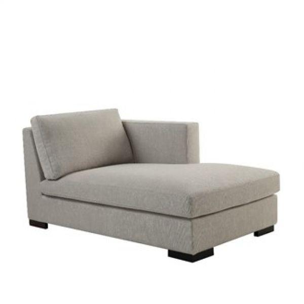 Modulsofa chaise lounge lin right