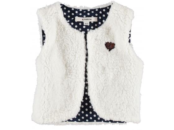 Garcia kids girls vest Hvit