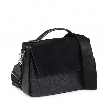 Luna Crossbody Bag Suede Mix